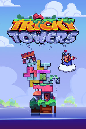 Tricky Towers poster image on Steam Backlog