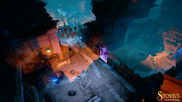Screenshot of Stories: The Path of Destinies