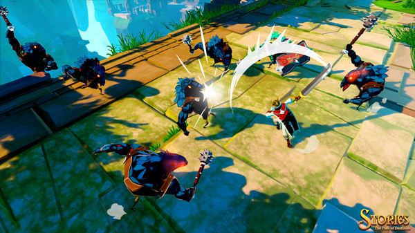 скриншот Stories: The Path of Destinies 0