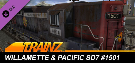 TANE DLC: Willamette & Pacific SD7 #1501