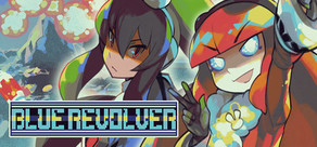 BLUE REVOLVER cover art