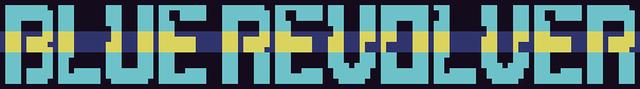 BLUE REVOLVER logo