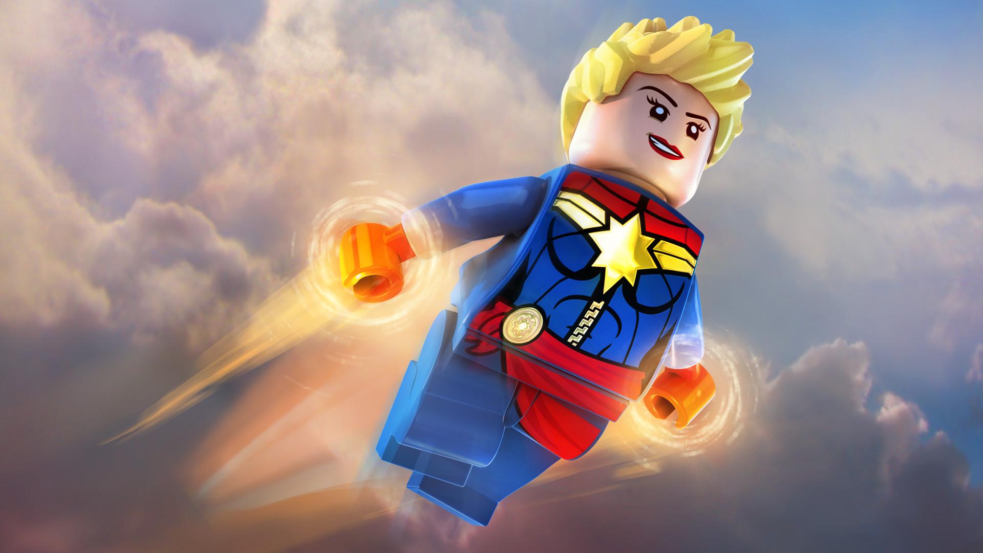 Lego Marvels Avengers Dlc Classic Captain Marvel Pack