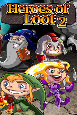 Heroes of Loot 2 poster image on Steam Backlog