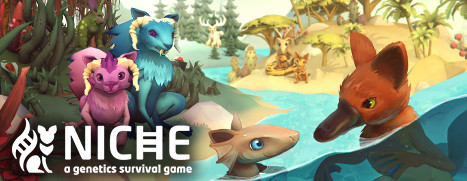 Now Available on Steam – Niche, 10% off!