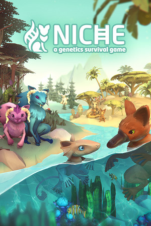Niche - a genetics survival game poster image on Steam Backlog