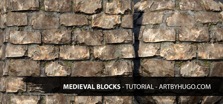 Medieval Blocks - Substance Designer Tutorial