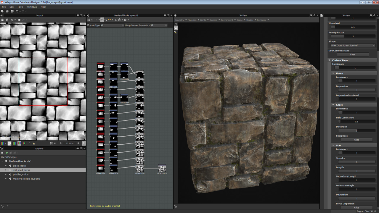 Medieval Blocks - Substance Designer Tutorial