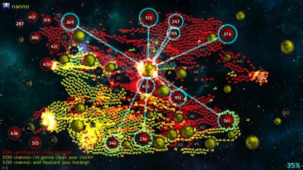 скриншот Galcon Fusion 5
