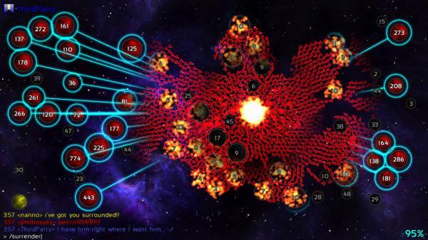 скриншот Galcon Fusion 4