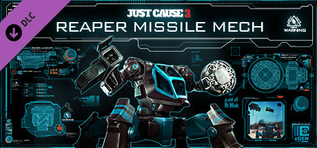Just Cause™ 3 DLC: Reaper Missile Mech