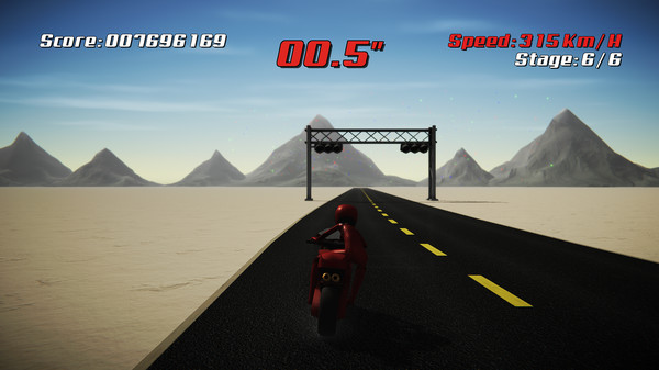Screenshot of Super Night Riders