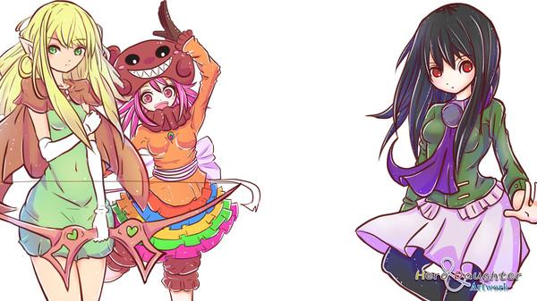Hero and Daughter+ :: Hero and Daughter Artwork Pack for RPG