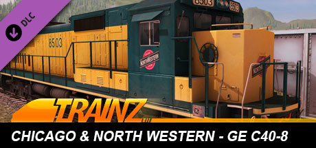 Trainz Driver DLC: C&NW GE C40-8 on Steam