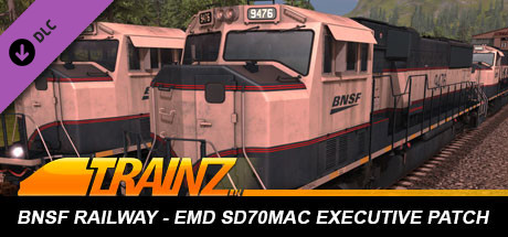 Trainz Driver DLC: BNSF EMD SD70MAC Executive Patch on Steam