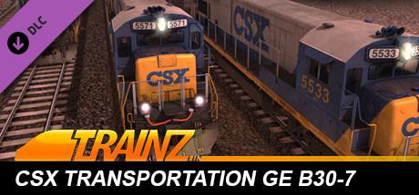 Trainz Driver DLC: CSX Transportation - GE B30-7 on Steam