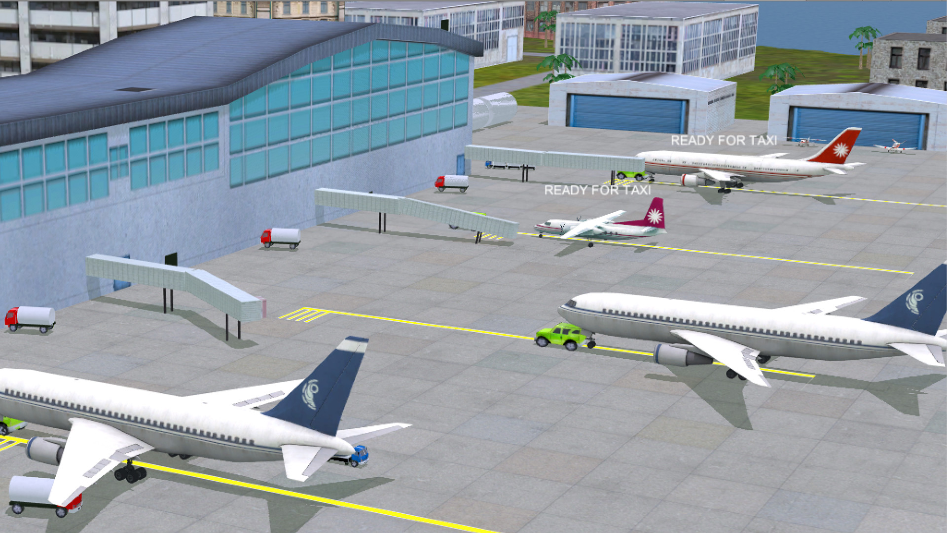 Air traffic control game airport madness 4