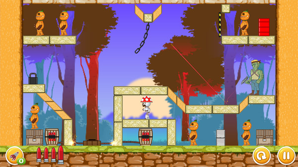 скриншот Undead vs Plants 2