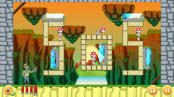 скриншот Undead vs Plants 4