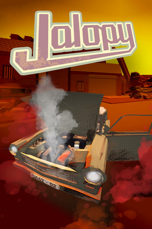Jalopy - Road Trip Car Driving Simulator Indie Game poster image on Steam Backlog