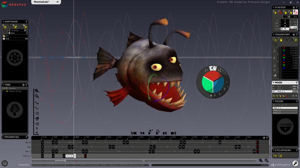 Скриншот из akeytsu Indie 2017