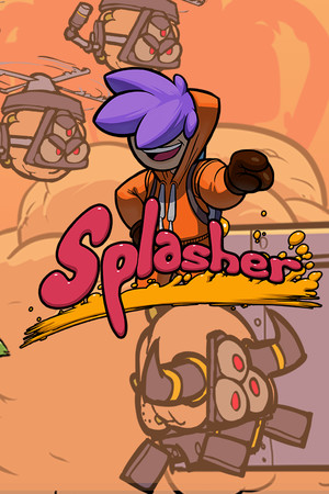 Splasher poster image on Steam Backlog