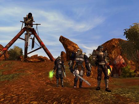 Скриншот из Silverfall: Earth Awakening