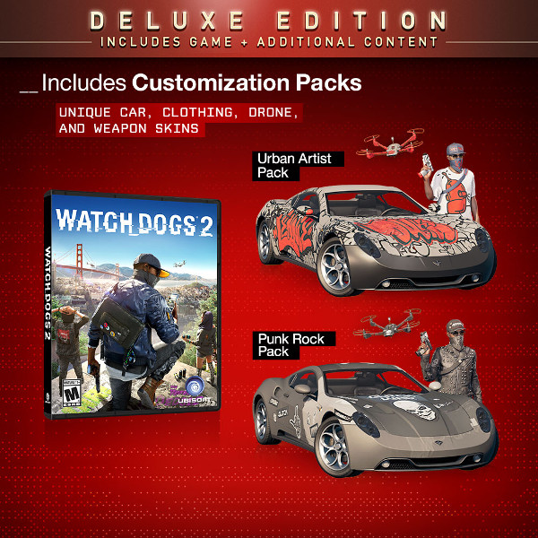 Buy watch dogs 2 deluxe edition / steam / ru and download.