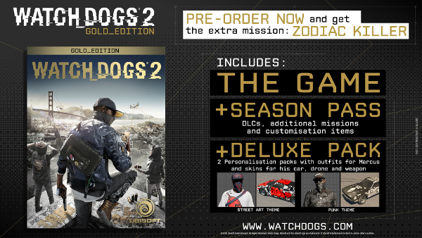 Watch dogs digital deluxe edition steam key global g2a. Com.