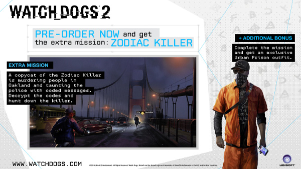 Watch Dogs 2 Official Playstation Store Pre Order: Pre-purchase Watch_Dogs® 2 On Steam