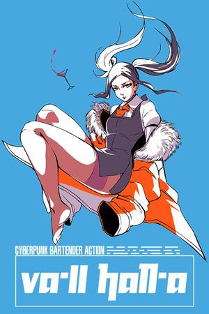 VA-11 Hall-A: Cyberpunk Bartender Action poster image on Steam Backlog