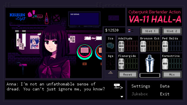 VA-11 Hall-A: Cyberpunk Bartender Action 9