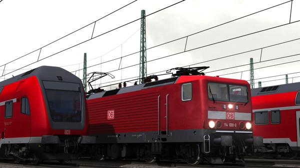 скриншот Train Simulator: DB BR 114 Loco Add-On 3