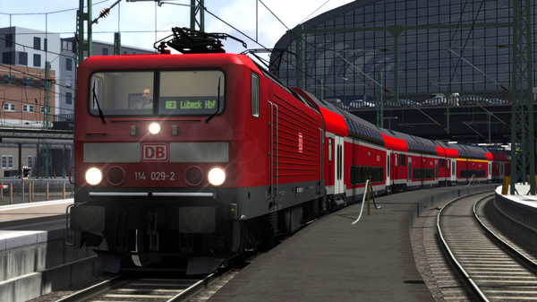 скриншот Train Simulator: DB BR 114 Loco Add-On 5