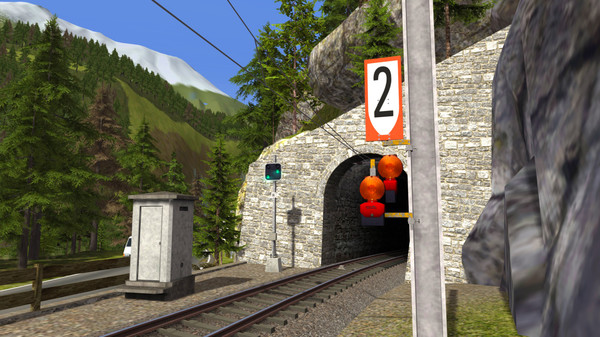 скриншот Train Simulator: RhB Enhancement Pack 5