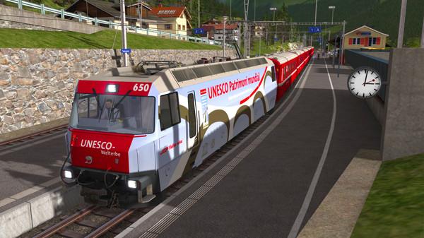 скриншот Train Simulator: RhB Enhancement Pack 4