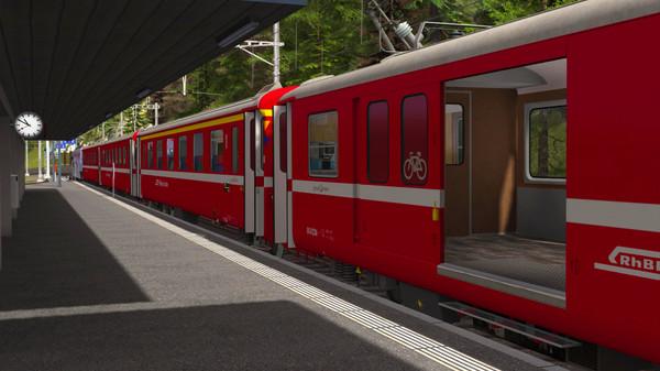 скриншот Train Simulator: RhB Enhancement Pack 1