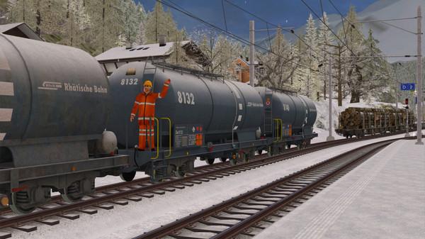 скриншот Train Simulator: RhB Enhancement Pack 3