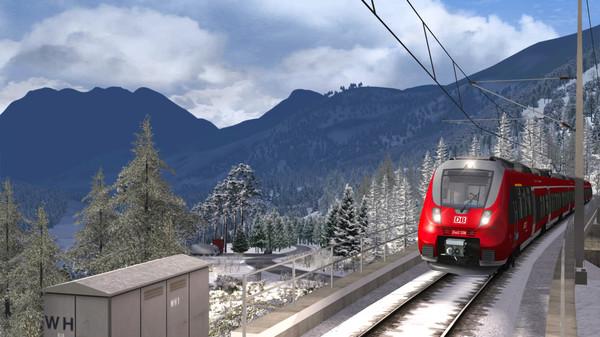 скриншот Train Simulator: Mittenwaldbahn: Garmisch-Partenkirchen - Innsbruck Route Add-On 3