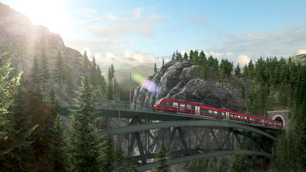 скриншот Train Simulator: Mittenwaldbahn: Garmisch-Partenkirchen - Innsbruck Route Add-On 0