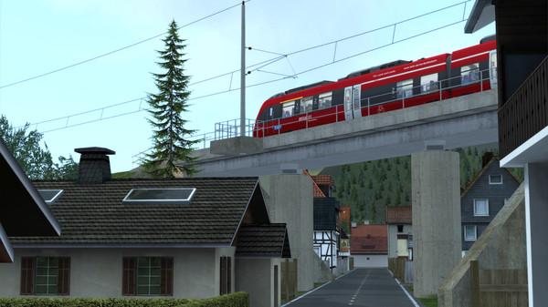 скриншот Train Simulator: Mittenwaldbahn: Garmisch-Partenkirchen - Innsbruck Route Add-On 2
