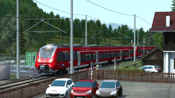 скриншот Train Simulator: Mittenwaldbahn: Garmisch-Partenkirchen - Innsbruck Route Add-On 5