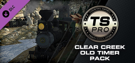 Train Simulator: Clear Creek Old Timer Rolling Stock Pack Add-On