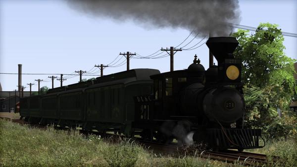скриншот Train Simulator: Clear Creek Old Timer Rolling Stock Pack Add-On 5