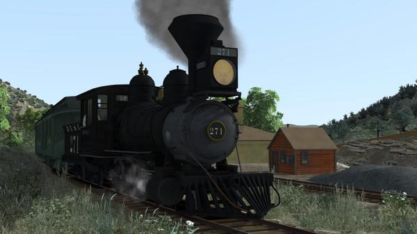 скриншот Train Simulator: Clear Creek Old Timer Rolling Stock Pack Add-On 1