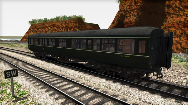 скриншот TS Marketplace: BR Hawksworth Coach Pack 02 Add-On 5