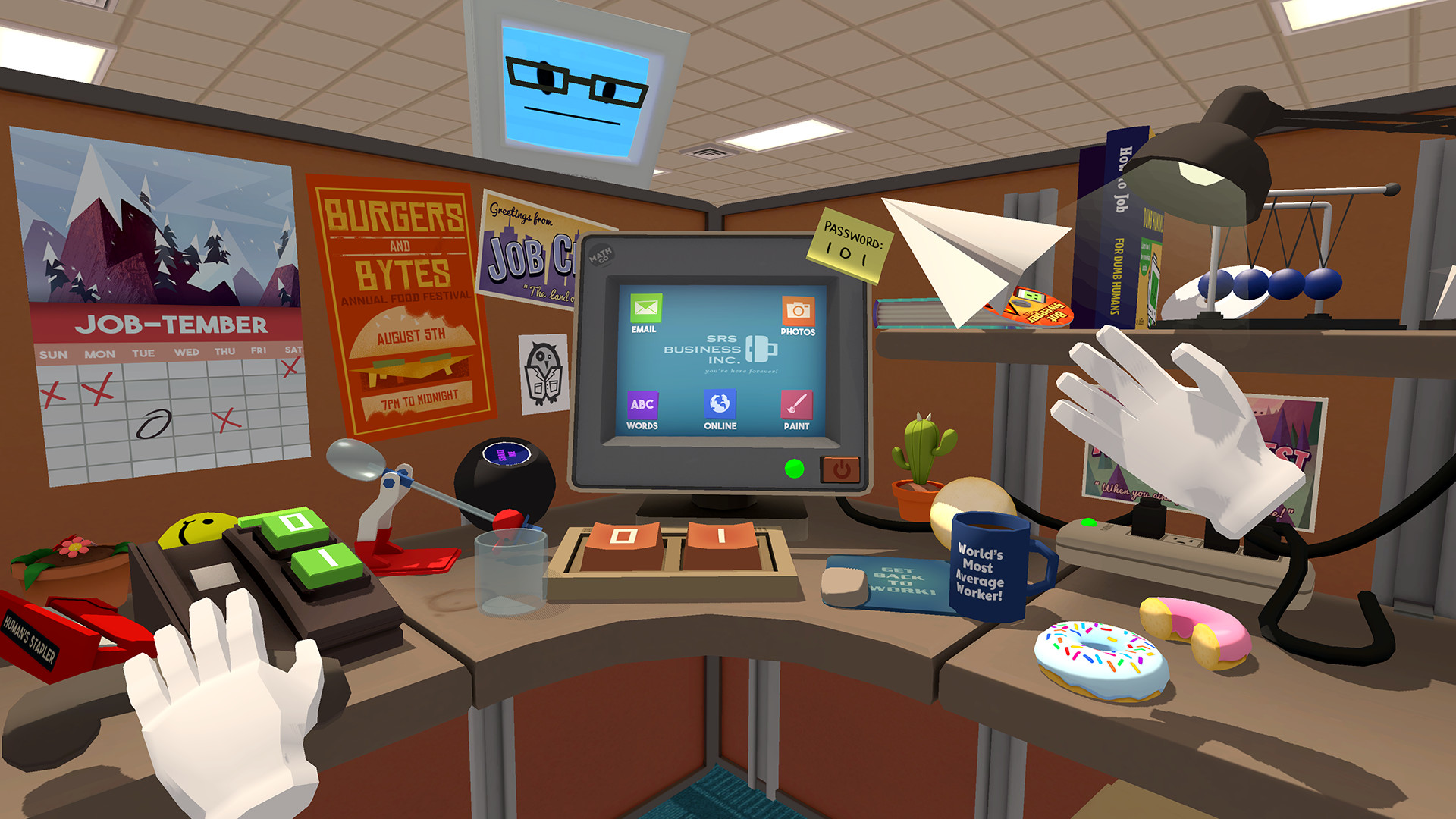 Find the best laptop for Job Simulator
