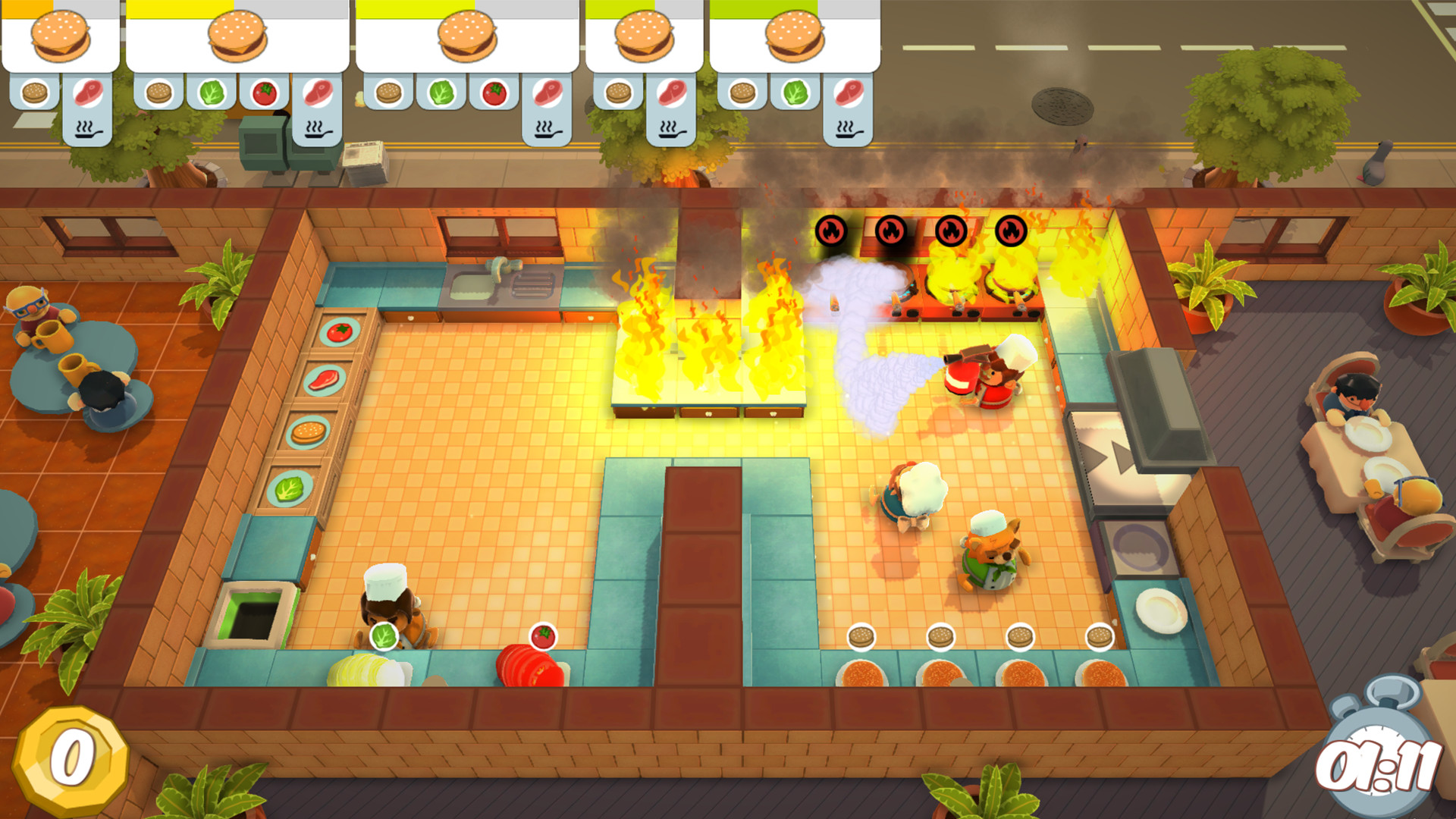 Image result for overcooked!