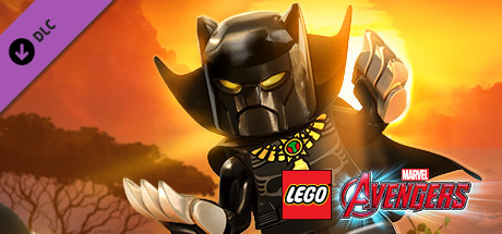 LEGO MARVEL's Avengers DLC -Classic Black Panther Pack