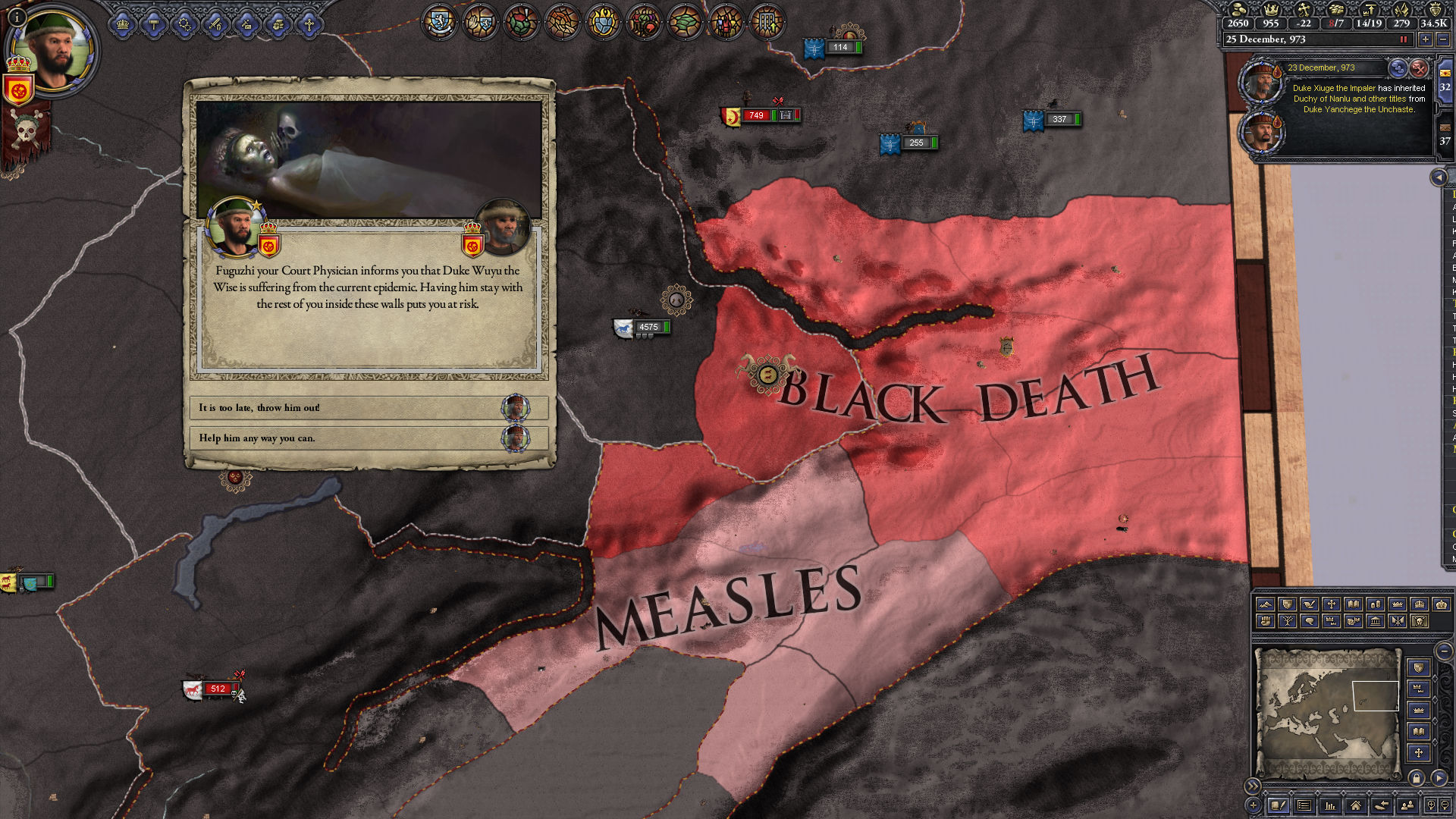 Crusader Kings II: The Reapers Due Screenshot 2
